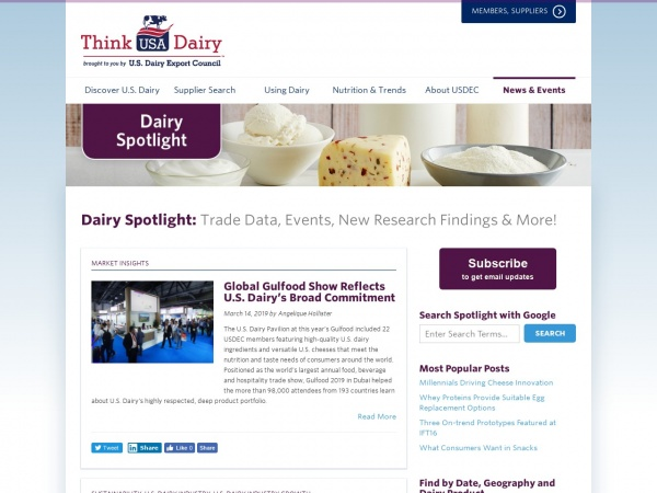 dairyspotlight.thinkusadairy.org