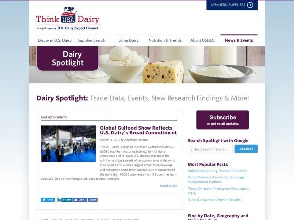 dairyspotlight.thinkusadairy.org