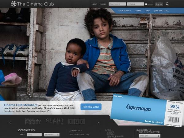 thecinemaclub.com
